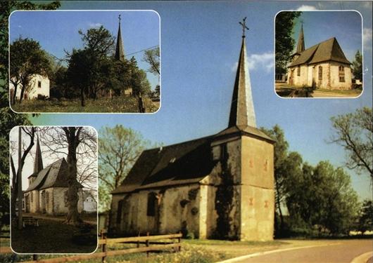 Postkarte der Kapelle