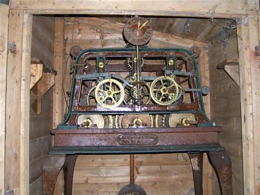 Uhrwerk im Turm