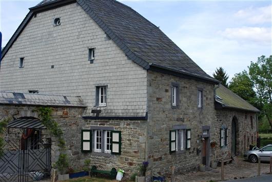 Wohnhaus, Westfassade