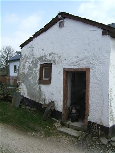 Backhaus, Vorderfassade