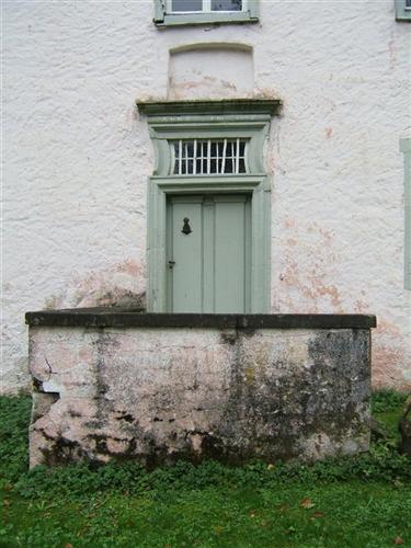Eingangstür des Herrenhauses