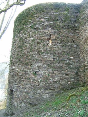 Ostbastion im Ostflügel, Ansicht Nord