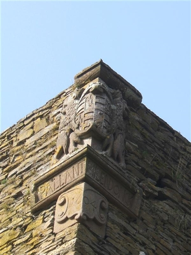 Südflügel, Wappen Pallant-Millendonk