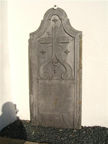 Grabplatte Pastor Ignatz Brantz