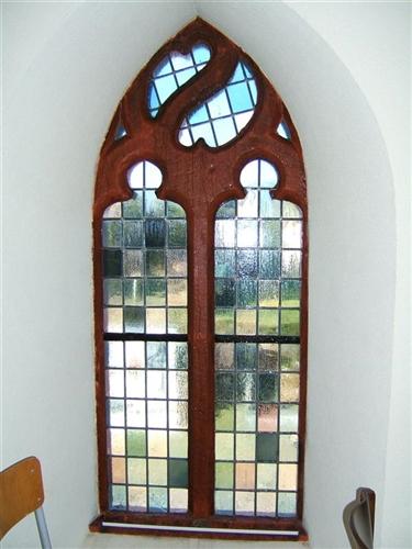 Fenster westliches Joch