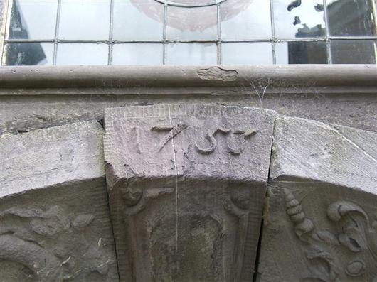 Tür Nordwand (Detail)