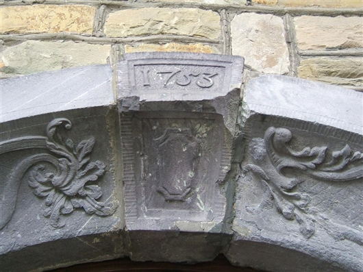 Sakristeitür, Detail