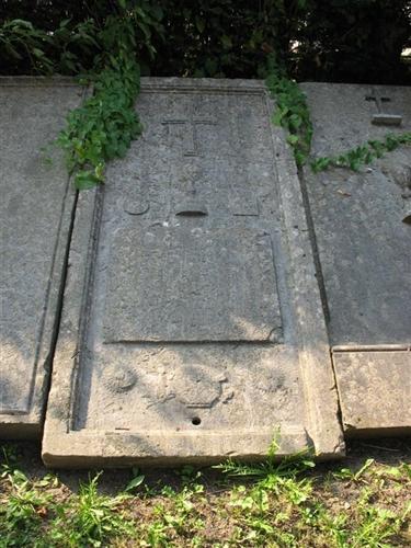 Grabplatte des Johannes Joseph Lamiat