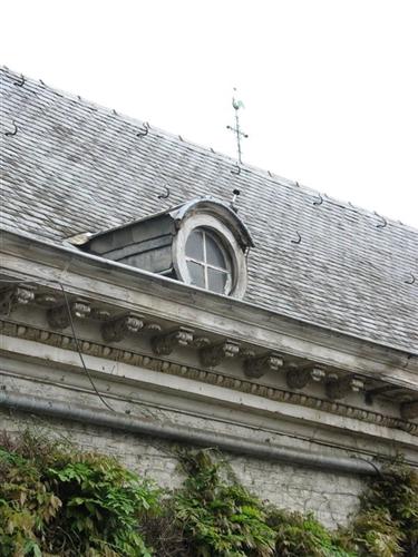 Dach mit Bullauge