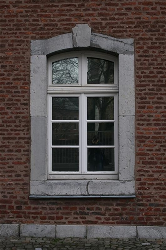 Süd-Ostfassade, Fenster EG