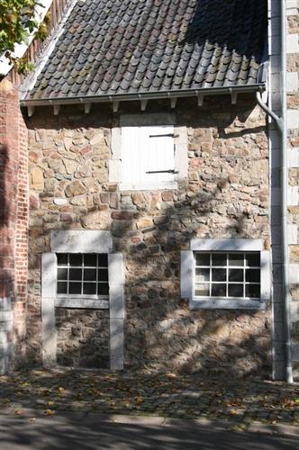 Anbau - Bruchsteinfassade