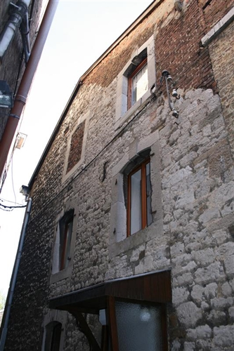 Seitliche Fassade
