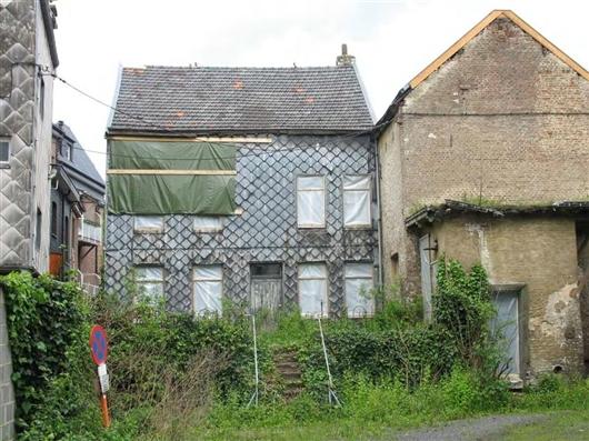 Rückfassade, Haupthaus