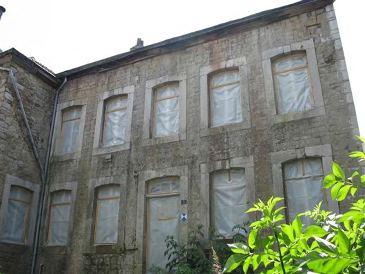 Haupthaus, Vorderfassade