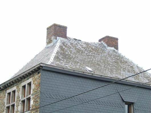 Dach, Hauptgebäude