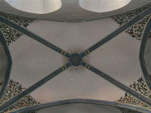 Seitenschiff, Kreuzrippengewölbe