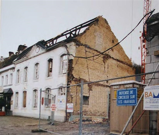 Umbauarbeiten 2002