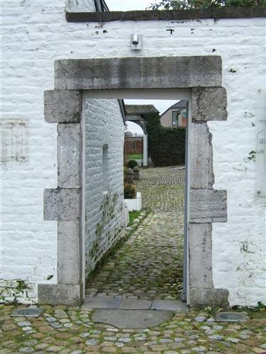 Mauer mit Tor