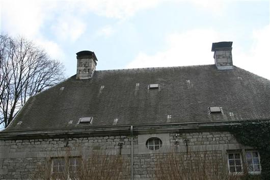 Rückansicht Dach