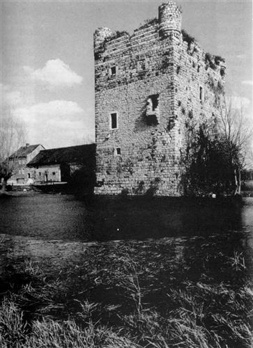 Alte Ansicht, Bergfried