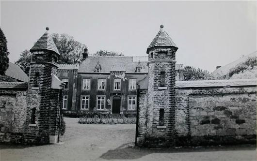Hauptgebäude vor 1975