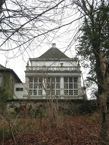 Westfassade, Herrenhaus
