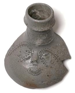 Raerener Steinzeug, Bruchstück (Gesichtskrug) FOR01/098