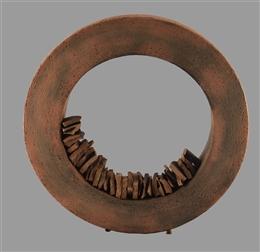 Objekt Ring mit Einlagen