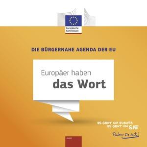 Die Bürgernahe Agenda der EU