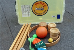 Pedalo Teamspiel-Box