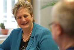 Seit 26 Jahren führt Ingrid Mertes die Klinik St.Vith