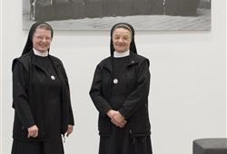 Schwester Katharina und Schwester Adelheidis
