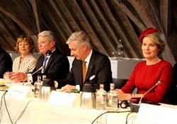 Joachim Gauck, König Philippe, Königin Mathilde und Daniela Schadt