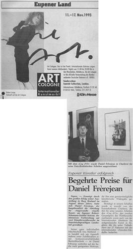 Begehrte Preise für Daniel Frèrejean