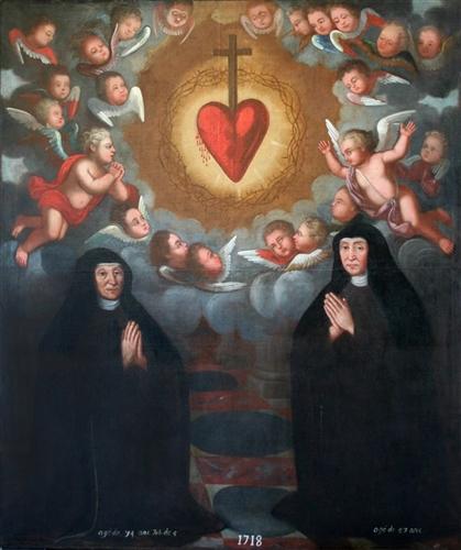 Gründerschwestern des Klosters Heidberg