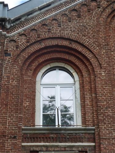 Vorderfassade - Detail Öffnung