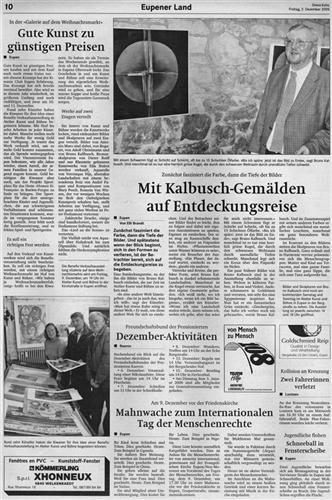 Mit Kalbusch-Gemälden auf Entdeckungsreise