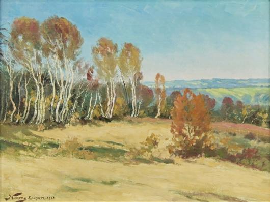 Eupen - Birken im Vorfrühling
