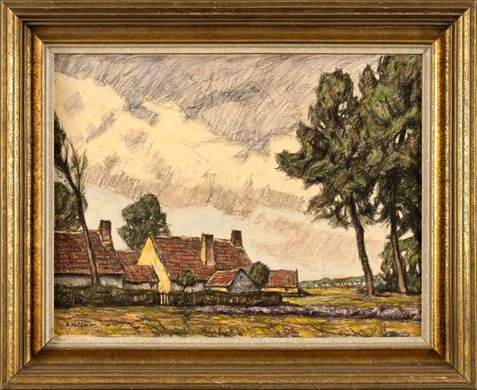 Landschaft in Lissewege