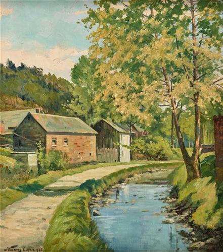 Eupen - alte Mühle im Langesthal