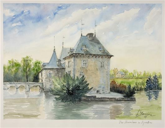 Das Herrenhaus in Eynatten