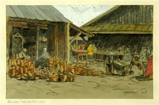 Kowno, Topfmarkt