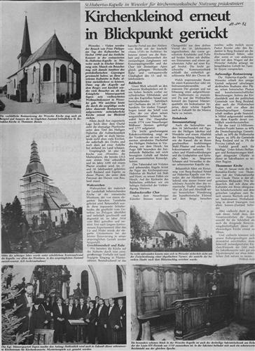 Kirchenkleinod erneut in Blickpunkt gerückt