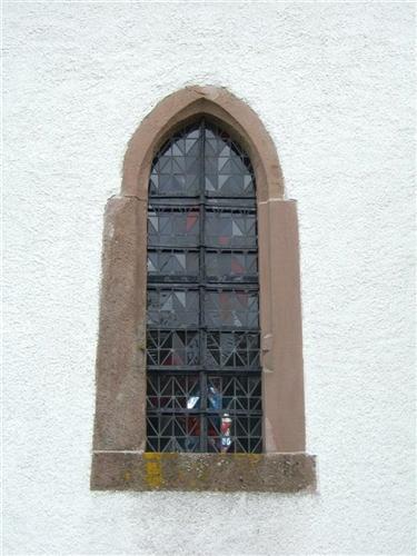 Fenster, Nordfassade