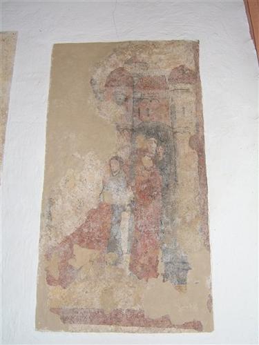 Wandmalerei, Westwand