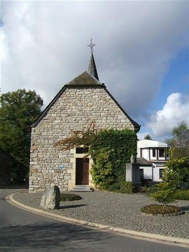 Ostwand (alte Kapelle)