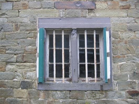 Fenster der Südfassade, Erdgeschoss