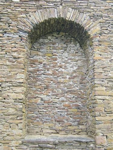 Südflügel, Nische für Wandschrank