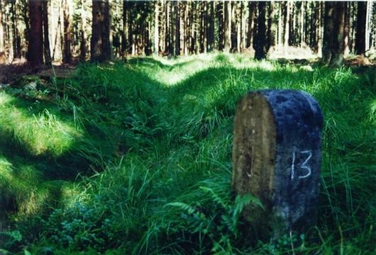 Grenzstein Jülich-Luxemburg Nr.13 (östliche Linie)