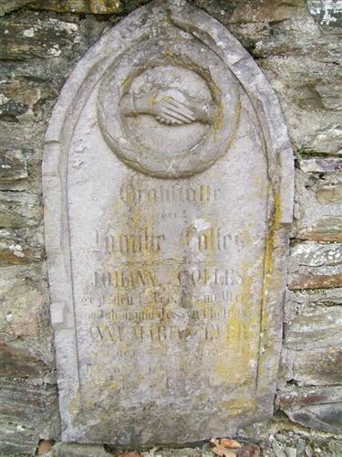 Grabstätte der Familie Colles